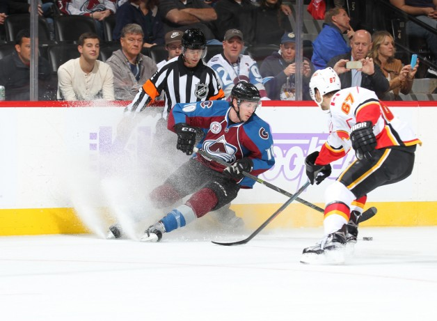 Calgary Flames v Colorado Avalanche