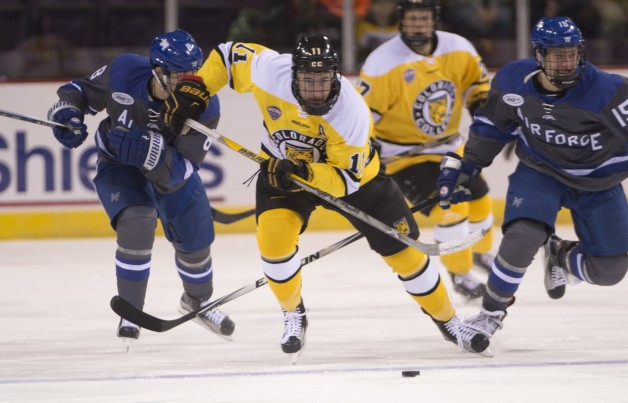 CC Hockey vs. Air Force Academy, Broadmoor World Arena Nov. 28, 2015